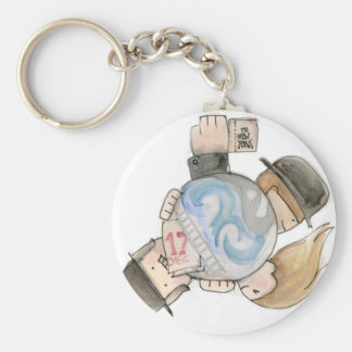 Around the World in 80 Days Key Ring
