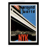 Around the World with NYK Greeting Card