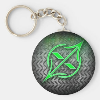 Arowtrap acessories and apparel basic round button key ring