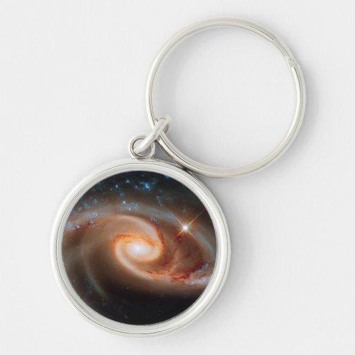 Arp 273 Rose Galaxies Key Chains