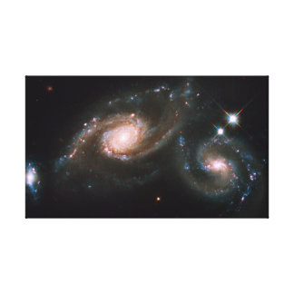Arp 274 Galaxies NASA Space Stretched Canvas Print