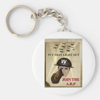 ARP Recruiting Poster Basic Round Button Key Ring