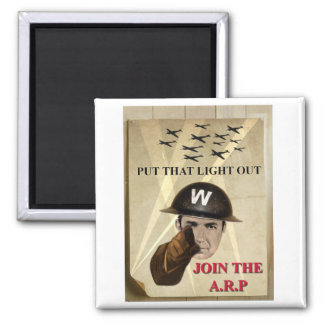 ARP Recruiting Poster Refrigerator Magnet