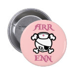 Arr Enn 6 Cm Round Badge