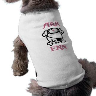 Arr Enn Sleeveless Dog Shirt