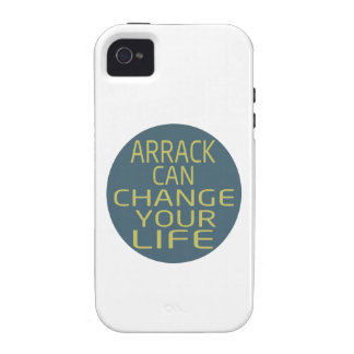 Arrack Can Change Your Life iPhone4 Case