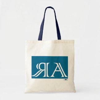 Arraias anagram, Blue. Tote Bags