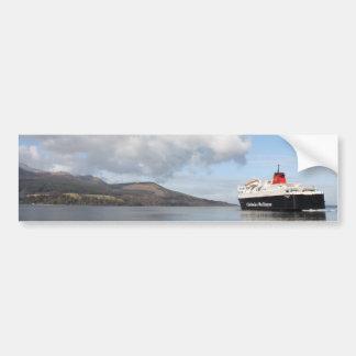 Arran, Scotland Bumper Sticker