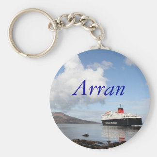 Arran, Scotland Basic Round Button Key Ring