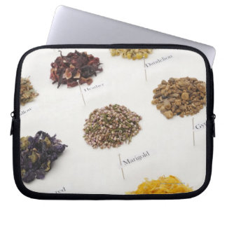 Arranged herbs laptop sleeve