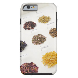 Arranged herbs tough iPhone 6 case
