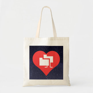 Arranging Files Symbol Budget Tote Bag
