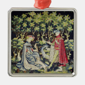 Arras Tapestry, Offering of the Heart Christmas Ornament