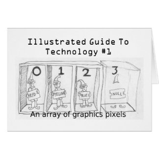 Array, It's The Pixels Card