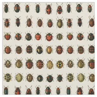 Array of Ladybirds Fabric