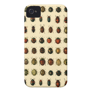Array of Ladybirds iPhone 4 Case-Mate Cases