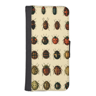 Array of Ladybirds iPhone SE/5/5s Wallet Case