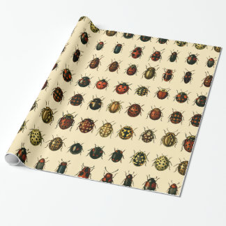 Array of Ladybirds Wrapping Paper