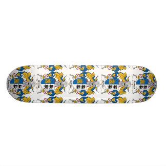 Arrese Family Crest Skate Board