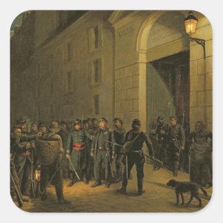 Arrest of the Generals Square Sticker