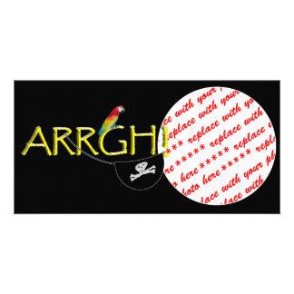 ARRGH! CUSTOM PHOTO CARD