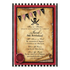 Arrgh! Pirate Birthday Party Invitation