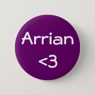 Arrian <3 6 cm round badge