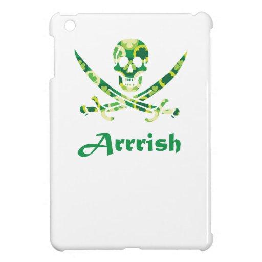 Arrish Irish Pirate Calico Jack Skull iPad Mini Cases