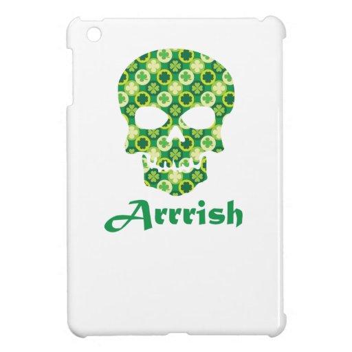 Arrish Irish Pirate Shamrock Skull Cover For The iPad Mini