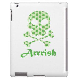Arrish Irish Pirate Skull And Crossbones iPad Case