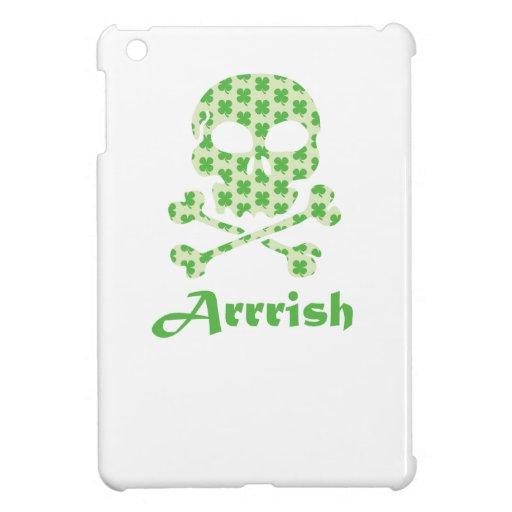 Arrish Irish Pirate Skull And Crossbones Case For The iPad Mini