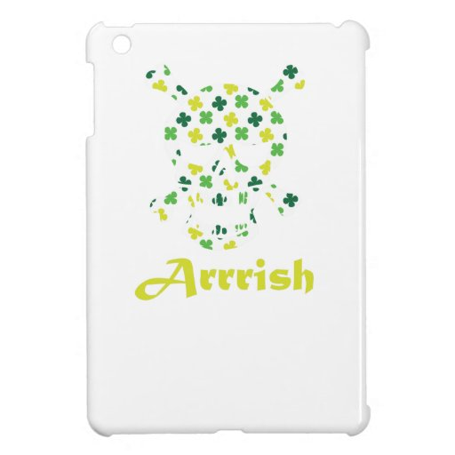 Arrish Irish Pirate Skull And Crossbones iPad Mini Covers
