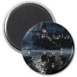 Arrival at Hogwarts 6 Cm Round Magnet