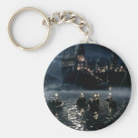 Arrival at Hogwarts Basic Round Button Key Ring