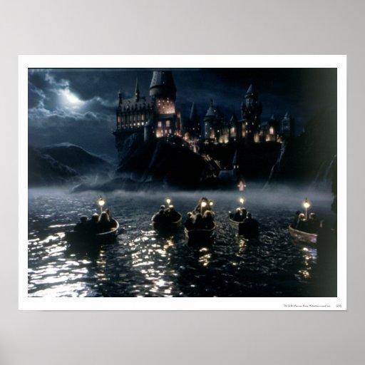 Arrival at Hogwarts Print