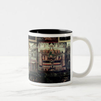 Arrival of Queen Elizabeth I at Tilbury Two-Tone Coffee Mug