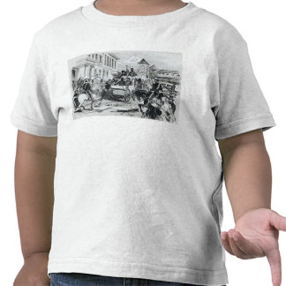 Arrival of the Government Conveyance Tee Shirts
