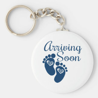 Arriving Soon Key Ring