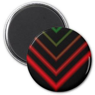 Arrow 6 Cm Round Magnet