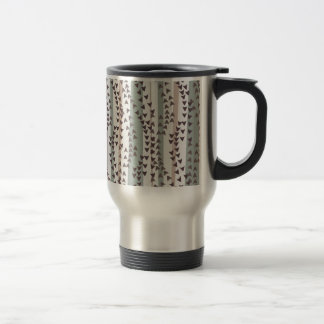 Arrow and feather travel mug