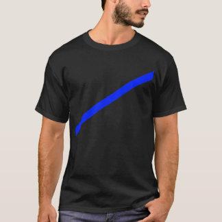 Arrow Blue 35deg The MUSEUM Zazzle Gifts T-Shirt