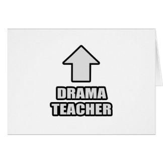 Arrow Drama Teacher Card