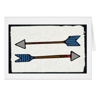 Arrow Greeting Card - Blank Inside
