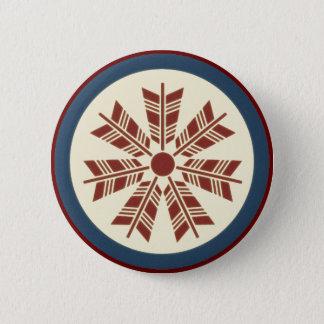 Arrow Kamon 6 Cm Round Badge