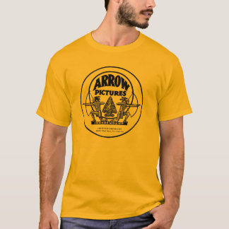 Arrow Pictures Silent Movie Western T-shirt NY