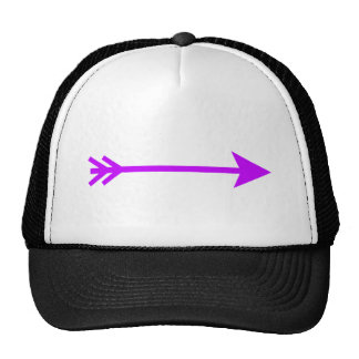 Arrow Purple Lt Straight The MUSEUM Zazzle Gifts Hats