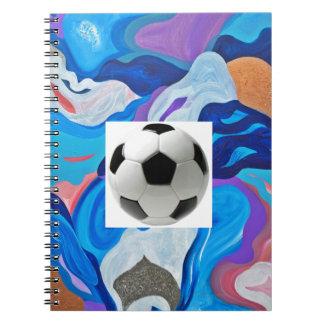 Arrow Soccer Ball Notebook