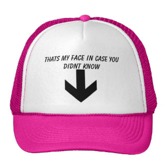 arrow, Thats my face in case you didnt know Mesh Hat
