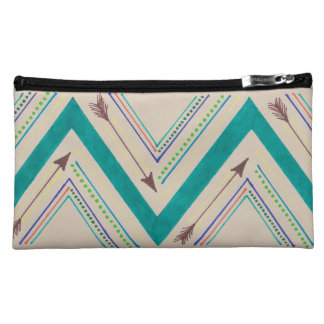 Arrow Zigzag Cosmetic Bag