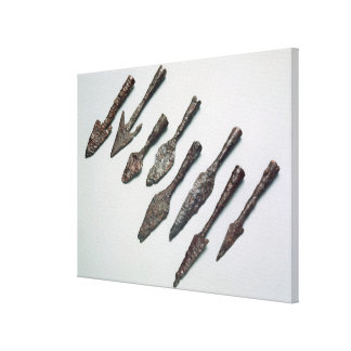 Arrowheads, Iron Age (iron) Canvas Print